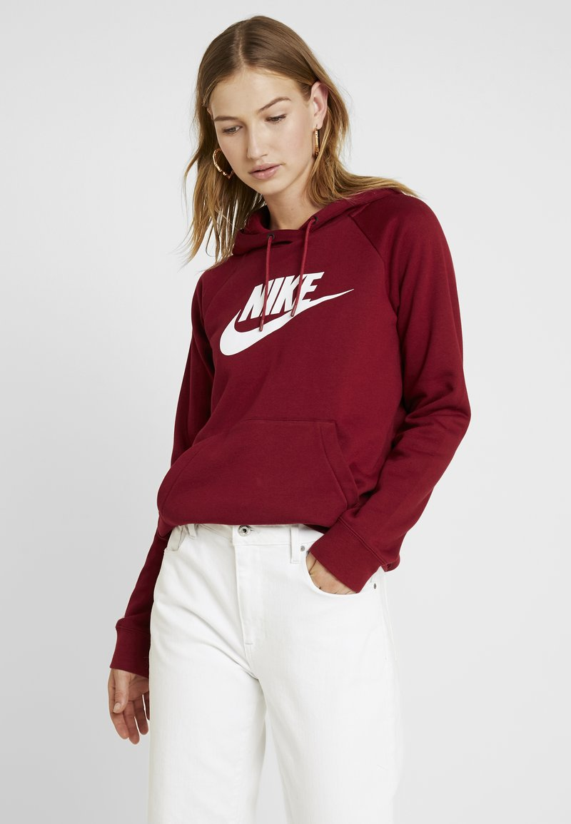 Nike Sportswear - HOODIE - Jersey con capucha - team red/white