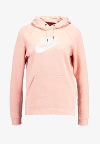 Nike Sportswear - HOODIE - Luvtröja - pink quartz/white - 4