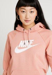 Nike Sportswear - HOODIE - Luvtröja - pink quartz/white - 5