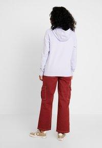 Nike Sportswear - HOODIE - Hoodie - lavender mist/white - 2
