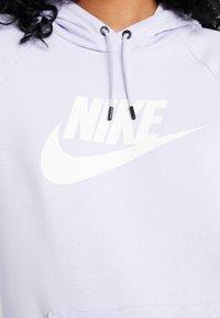 Nike Sportswear - HOODIE - Hoodie - lavender mist/white - 5
