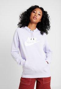 Nike Sportswear - HOODIE - Hoodie - lavender mist/white - 0