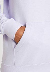 Nike Sportswear - HOODIE - Hoodie - lavender mist/white - 3
