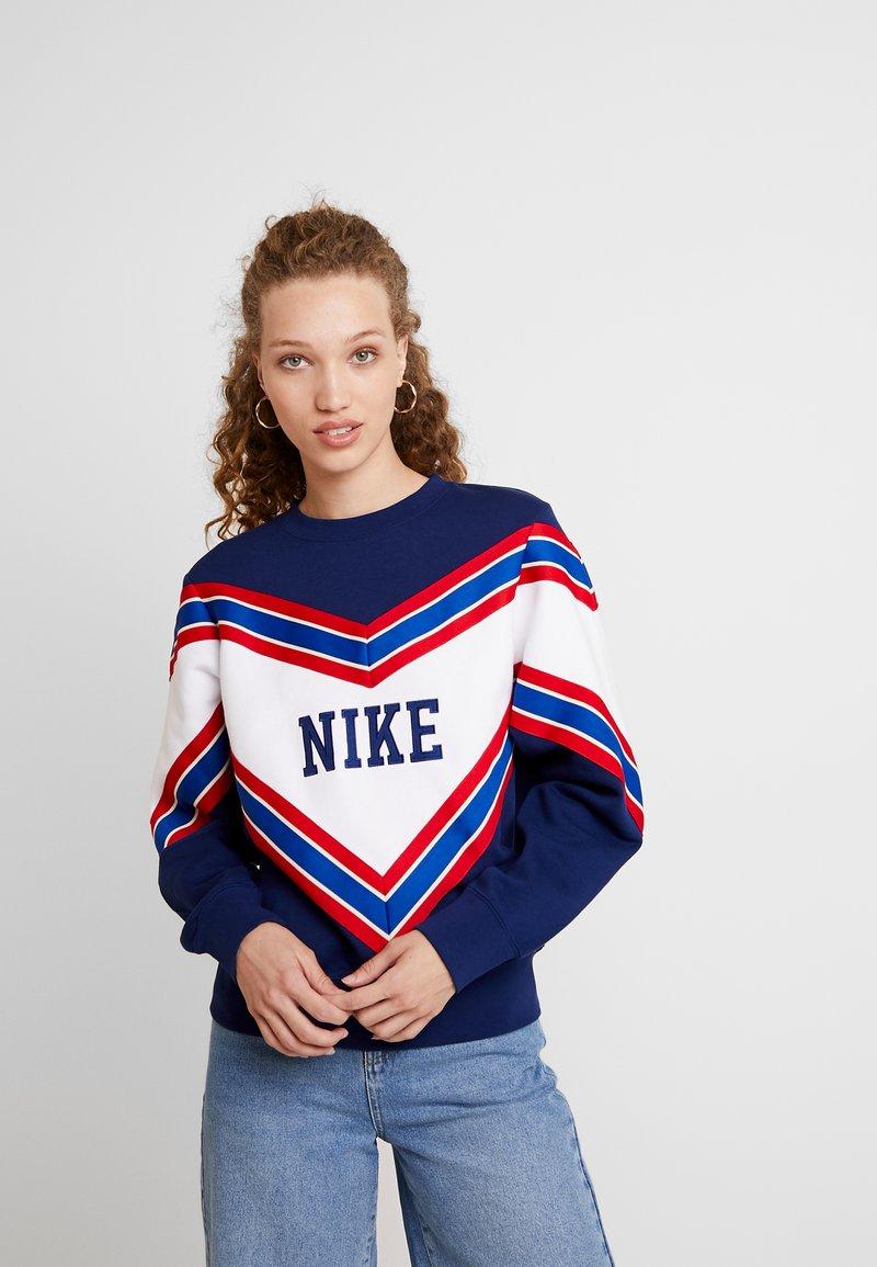 Nike Sportswear - CREW - Sweatshirt - blue void/white