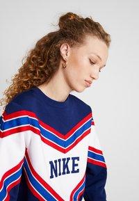 Nike Sportswear - CREW - Sweatshirt - blue void/white - 4