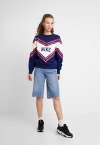 Nike Sportswear - CREW - Sweatshirt - blue void/white - 1