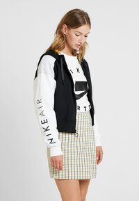 Nike Sportswear - veste en sweat zippée - black/birch heather/white - 0