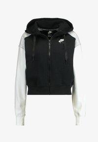 Nike Sportswear - veste en sweat zippée - black/birch heather/white - 5