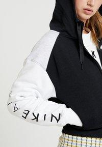 Nike Sportswear - veste en sweat zippée - black/birch heather/white - 4