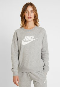 Nike Sportswear - CREW - Bluza - grey heather/white - 0