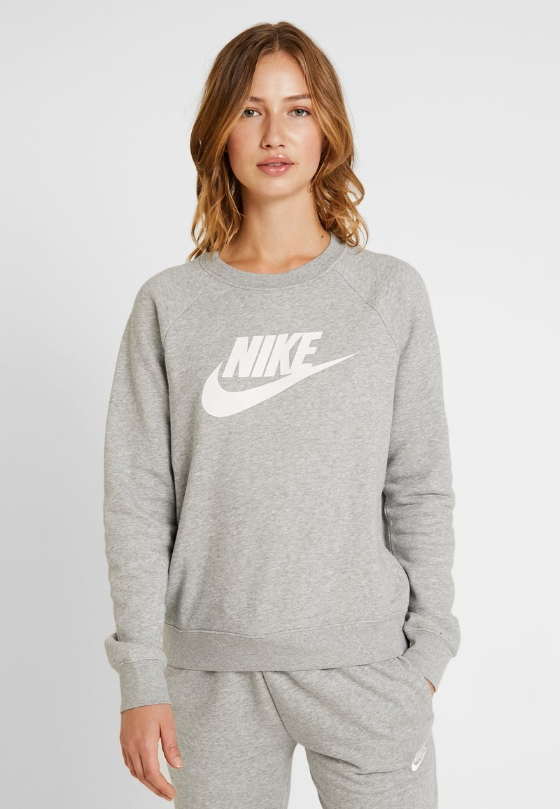 Nike Sportswear - CREW - Bluza - grey heather/white