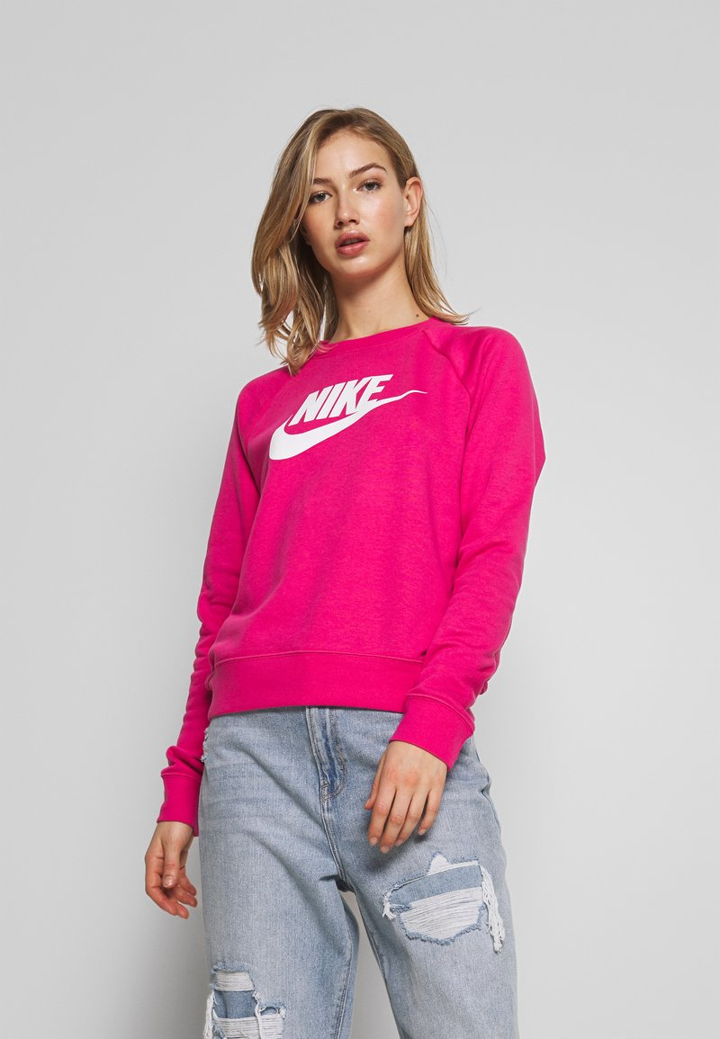 Nike Sportswear - CREW - Mikina - watermelon/white