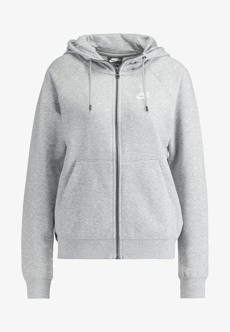 veste en sweat zippée grey heatherwhite