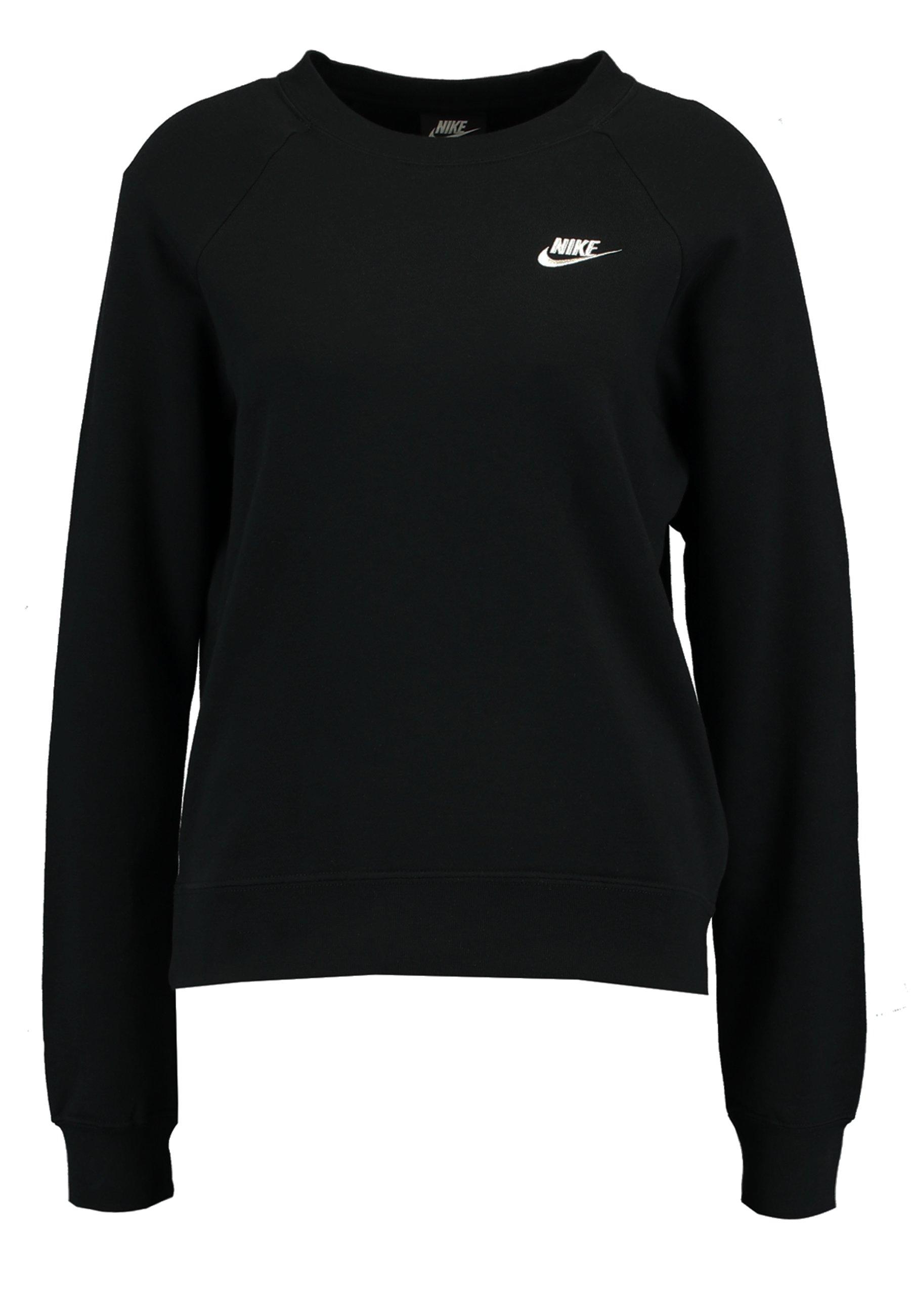 Nike Sportswear Crew - Sweatshirt Black/white