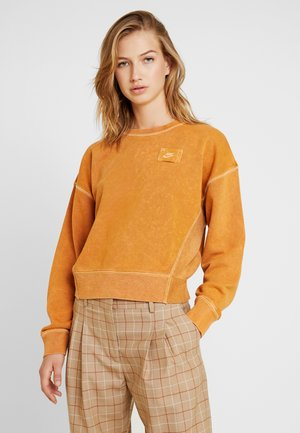 CREW REBEL - Sweatshirt - burnt sienna