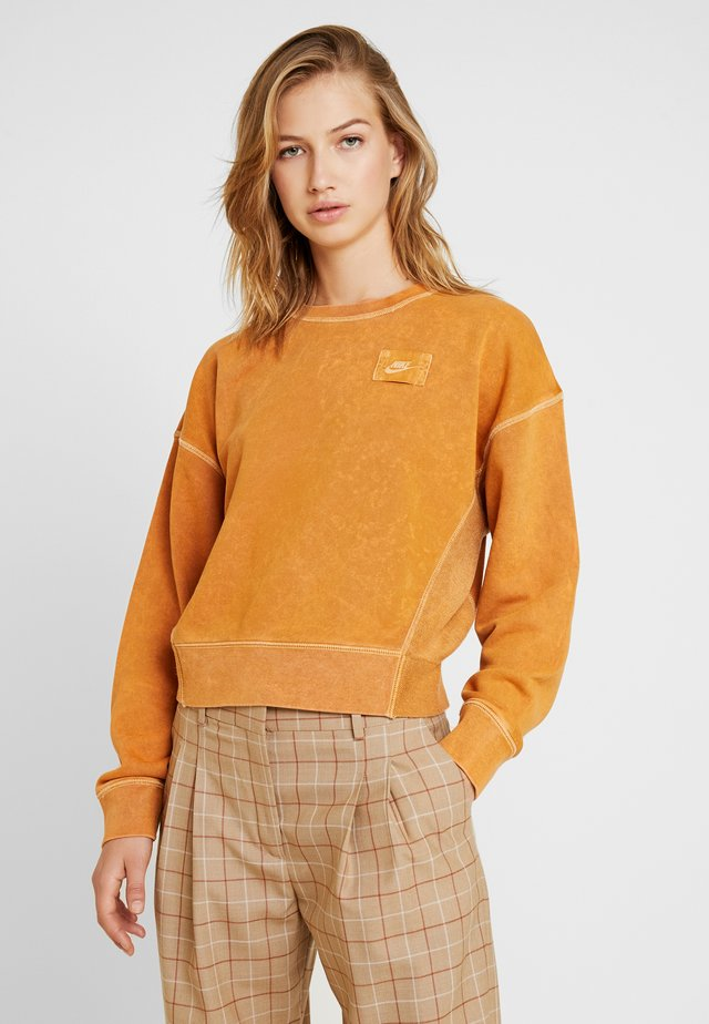 CREW REBEL - Sweater - burnt sienna
