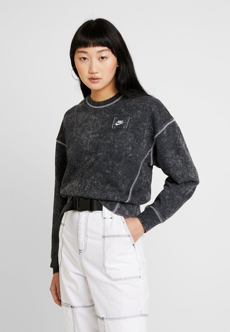Nike Sportswear - CREW REBEL - Sudadera - black