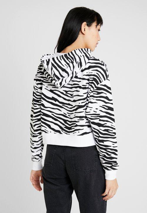 60% ZNIŻKI Nike Sportswear Bluza rozpinana - white/university red Odzież Damska SBEN-TG4