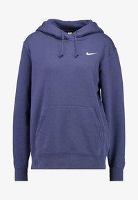 Nike Sportswear - W NSW HOODIE FLC TREND - Bluza z kapturem - sanded purple/white - 3