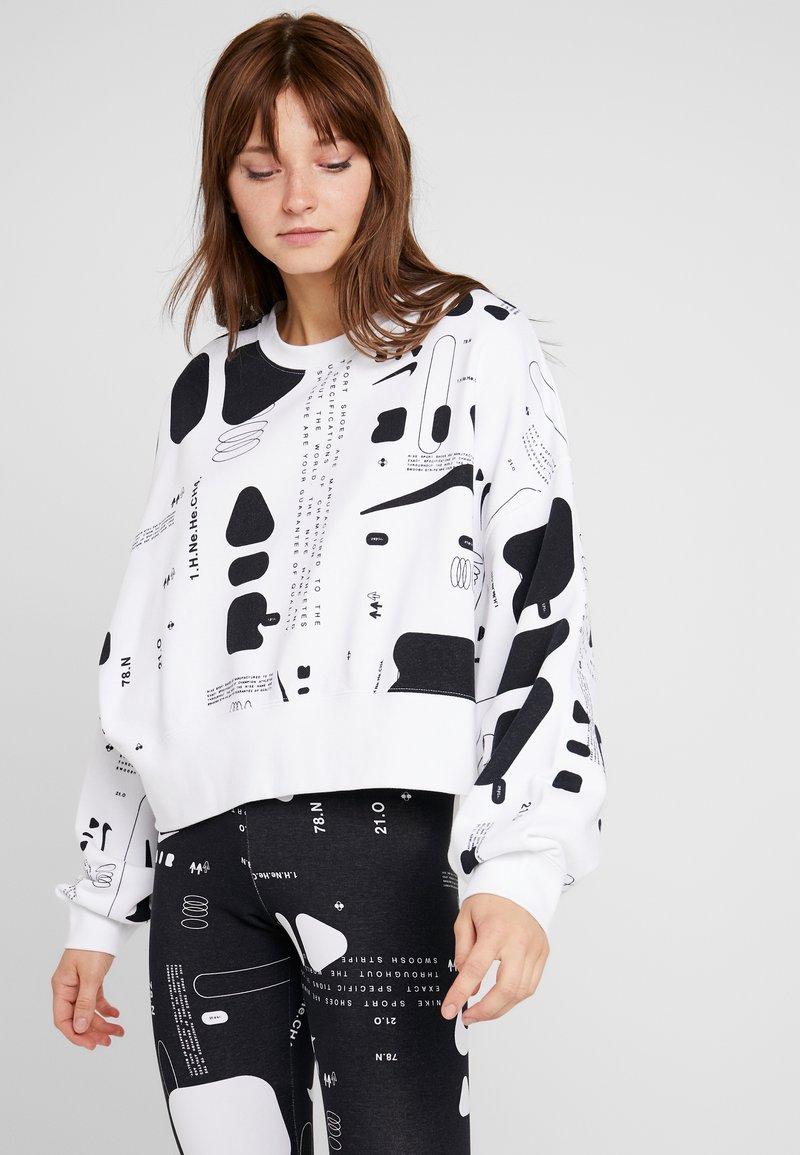 Nike Sportswear - CREW AIR - Mikina - white