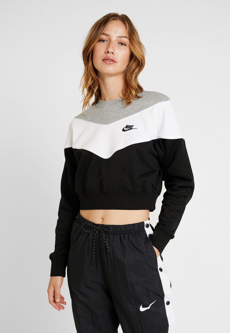 Nike Sportswear - Sweater - black/white