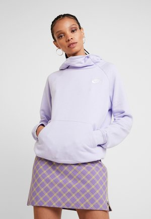 Hoodie - lavender mist/white