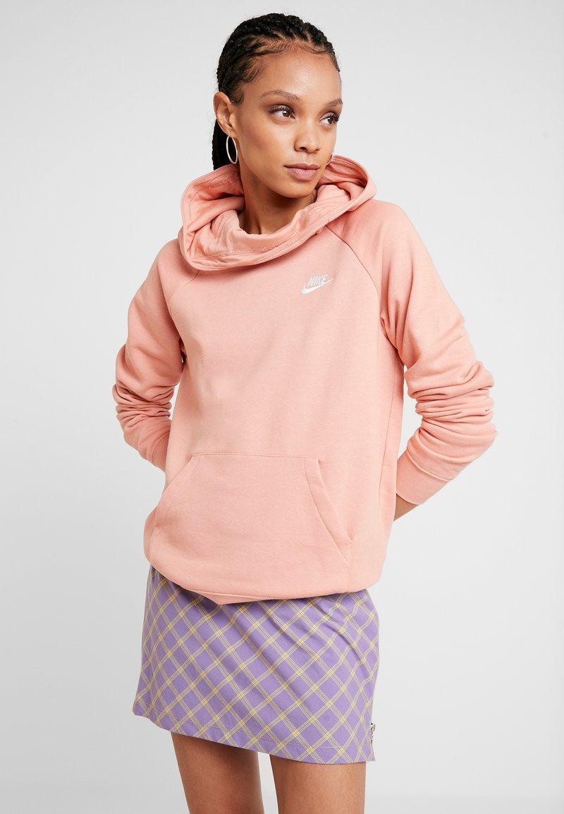 Nike Sportswear - Mikina skapucí - pink quartz/white