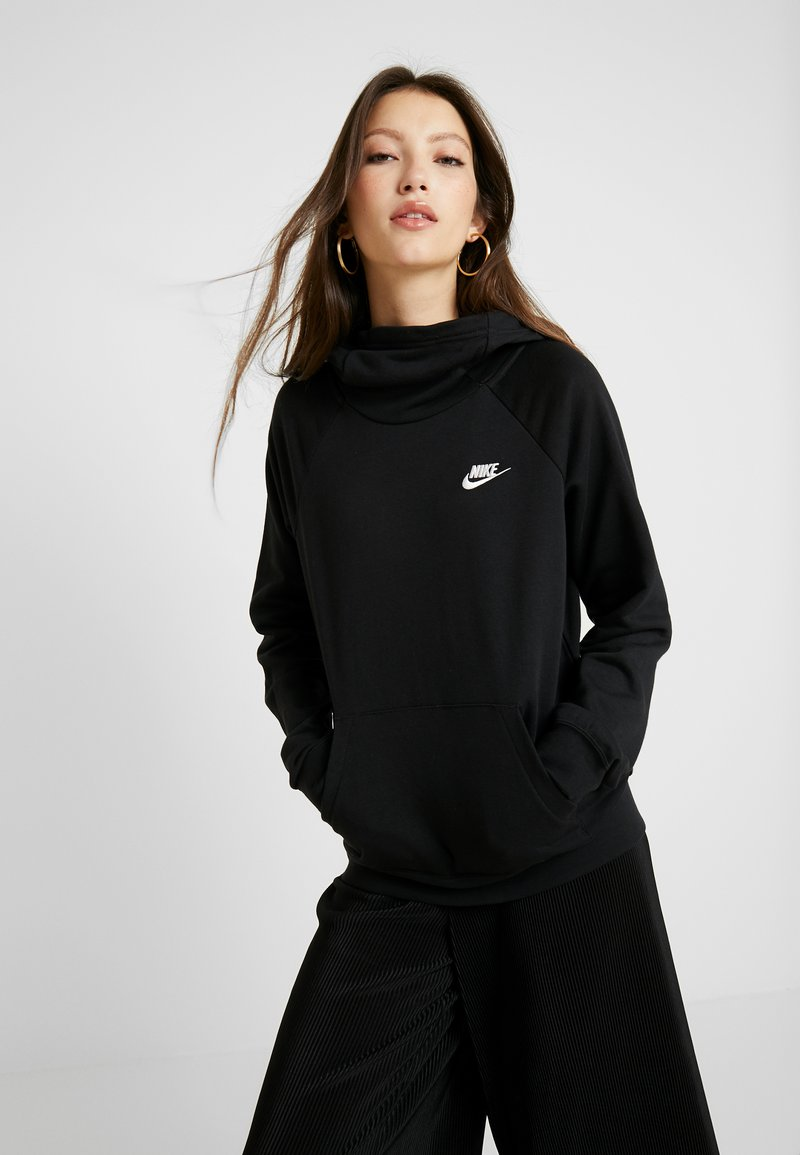 Nike Sportswear - Sweat à capuche - black/white