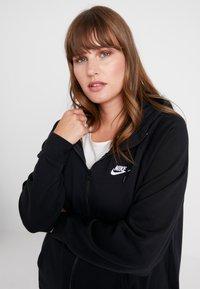 Nike Sportswear - HOODY - veste en sweat zippée - black/white - 4