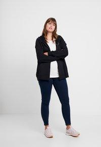 Nike Sportswear - HOODY - veste en sweat zippée - black/white - 1