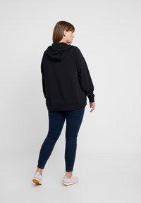 Nike Sportswear - HOODY - veste en sweat zippée - black/white - 2