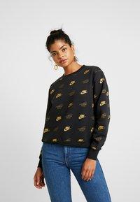 Nike Sportswear - SHINE - Sweatshirt - black/black - 0