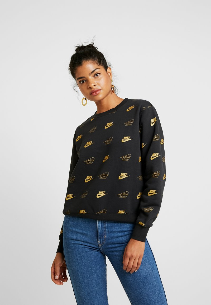 Nike Sportswear - SHINE - Sweatshirt - black/black