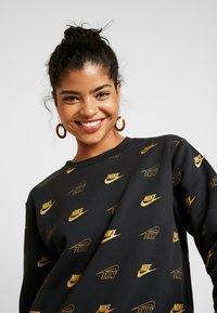 Nike Sportswear - SHINE - Sweatshirt - black/black - 4