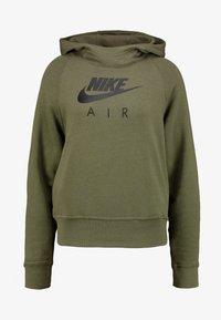 Nike Sportswear - AIR HOODIE - Luvtröja - medium olive/black - 3