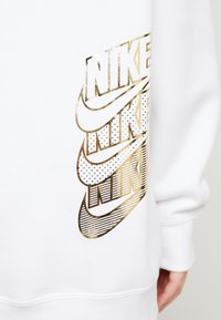 Nike Sportswear - Felpa con cappuccio - white/gold - 5
