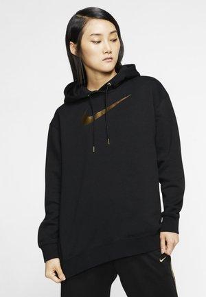 Bluza z kapturem - black / metallic gold
