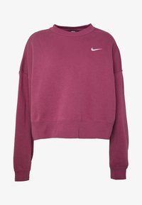 Nike Sportswear - CREW TREND - Sweater - mulberry rose/white - 3