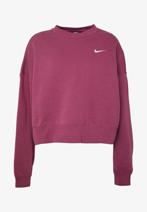 CREW TREND - Felpa - mulberry rose/white