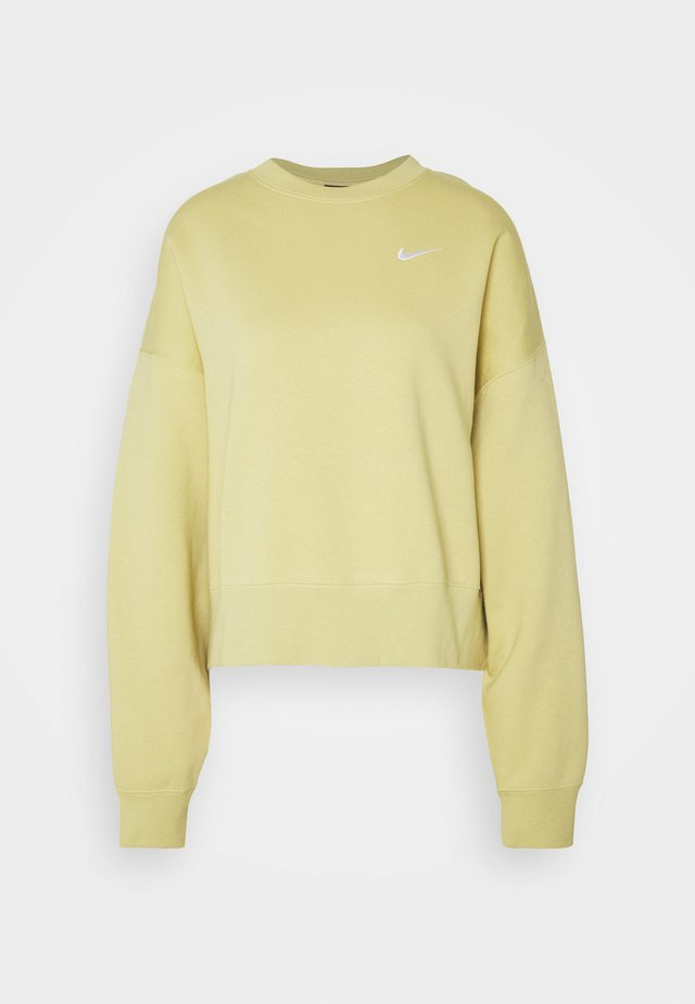 CREW TREND - Sweatshirt - high voltage/white