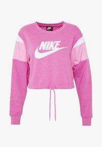 Nike Sportswear - CREW - Felpa - cosmic fuchsia/magic flamingo/white - 3