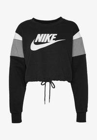 Nike Sportswear - CREW - Mikina - black/smoke grey/white - 3