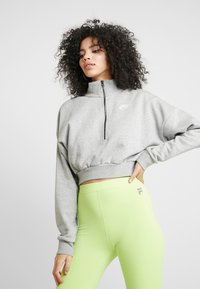 Nike Sportswear - Mikina - grey heather/white - 0