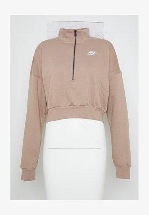 Sweatshirt - desert dust/(white)