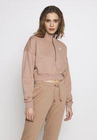 Nike Sportswear - Mikina - desert dust/(white) - 0