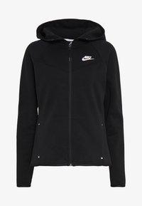 Nike Sportswear - HOODIE - Hoodie met rits - black/white - 3