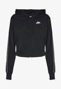 Nike Sportswear - HOODIE - Treningsjakke - black/white - 3
