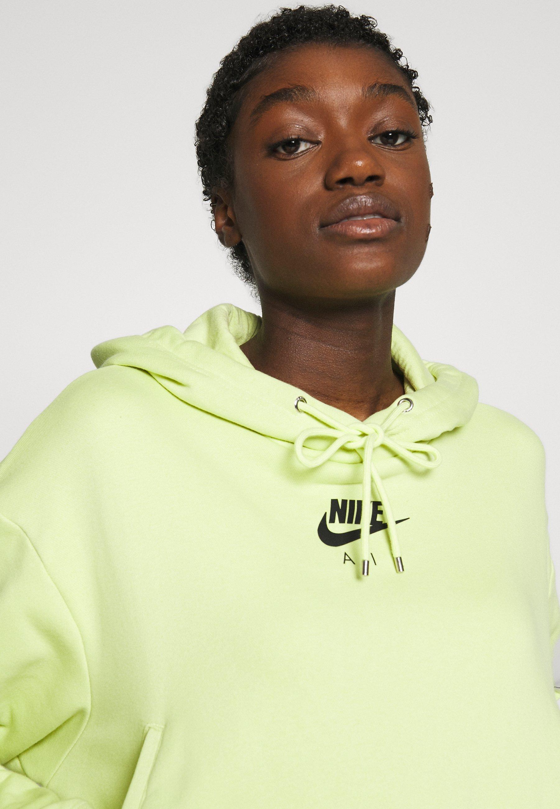 Nike Sportswear Air Hoodie - Luvtröja Limelight/(ice Silver)