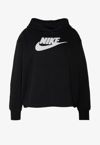 Nike Sportswear - PLUS SIZE ICON CLASH PATCHES FLEECE HOODIE - Hoodie - black - 4