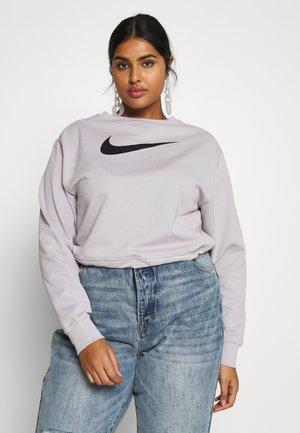 SWSH CREW PLUS - Sweatshirt - silver lilac/black